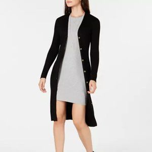 Knit Loom Ribbed Duster Cardigan